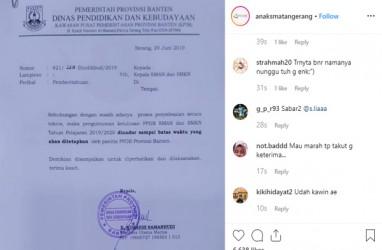 Pengumuman PPDB SMAN/SMKN Banten Ditunda, Kecurangan di Bogor Dilaporkan Apeksi