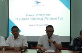 Garuda Indonesia Klaim Mahata Aero Baru Bayar US$160.000