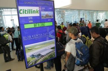 Penerbangan Pindah ke Kertajati, Load Factor di Bandara Husein Menyusut