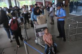 Jumlah Penumpang Pesawat di Bandara SMB II Turun