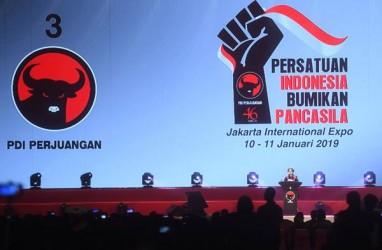 PDI Perjuangan Telah Selesaikan Konferensi di 10 Provinsi