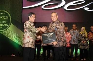 Bank Jateng Sabet Penghargaan BPD Terbaik Kategori BUKU III