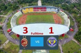 Liga 2: Sriwijaya FC Tekuk PSGC Ciamis 3-1. Ini Videonya