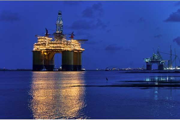 Anjungan minyak - Bloomberg