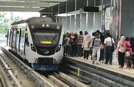 Heboh Lampu Penerangan Jalan LRT Palembang Padam, Ini Klarifikasinya
