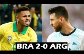 Copa America: Brasil Tekuk Argentina 2-0, Maju ke Final. Ini Videonya