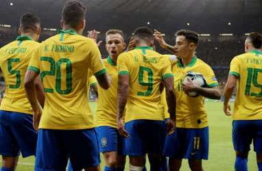 Diselamatkan Tiang Gawang 2 Kali, Brasil vs Argentina 2 - 0, Brasil ke Final Copa America