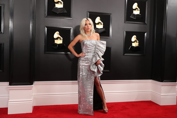 Lady Gaga di acara Grammy Awards, 10 Februari 2019 - Reuters