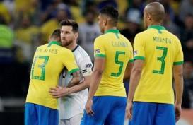 Argentina Kalah 0-2 dari Brasil, Messi Berang karena VAR Ngadat