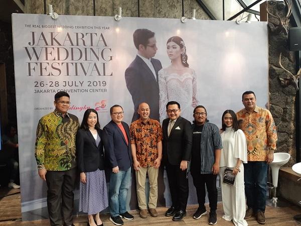 Penyelenggara Jakarta Wedding Festival (JWF) 2019 -  Bisnis/Eva Rianti