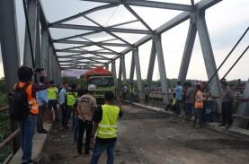 Perbaikan Jembatan Mesuji Rampung, Jalintim Sumatra…