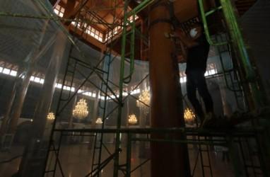 Teknik Renovasinya Salah, Pilar Masjid Agung Solo Rusak