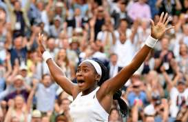 Petenis 15 Tahun Cori Gauff Teruskan Sensasi di Wimbledon