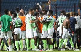Hasil Piala Afrika, Nigeria Singkirkan Juara Bertahan Kamerun