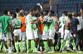 Hasil Piala Afrika, Nigeria Singkirkan Juara Bertahan…