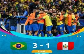 Copa America: Brasil vs Peru 3-1, Dua Kartu Merah. Brasil Juara 2019