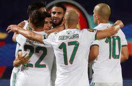 Riyad Mahrez Antar Aljazair Lolos ke Perempat Final Piala Afrika