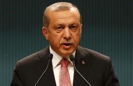 Erdogan Pecat Gubernur Bank Sentral Turki, Lira Lemas