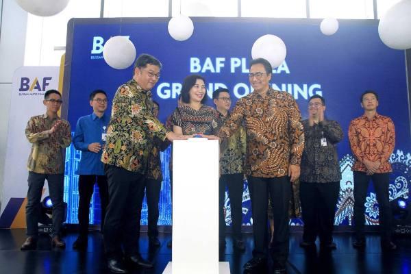Peresmian gedung BAF Plaza yang menjadi kantor pusat Bussan Auto Finance