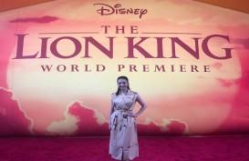 Raline Shah Hadiri World Premiere Film 'The Lion King'