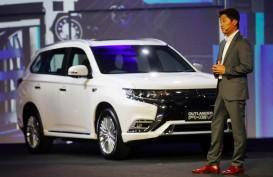 KENDARAAN LISTRIK : Mitsubishi Pasarkan Outlander PHEV
