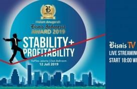 Inilah Peraih Bisnis Indonesia Award 2019 dan Outstanding Minister 2019