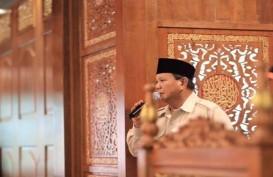 Prabowo: Kalau Saya Ketemu Jokowi Artinya Saya Berjuang untuk Rakyat