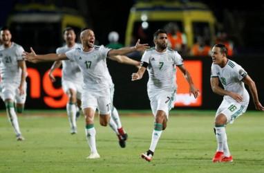 Riyad Mahrez Antar Aljazair ke Final Piala Afrika, Hadapi Senegal & Sadio Mane
