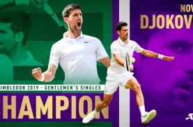 Djokovic Juara Wimbledon Lewat Final Terlama, Ini…