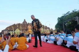 Gubernur Jateng Ingin 5 Juta Umat Budha Datangi Borobudur