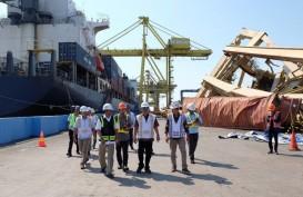 Crane Pelabuhan Tanjung Emas Roboh : Dirut Pelindo III Doso Agung Turun Tangan