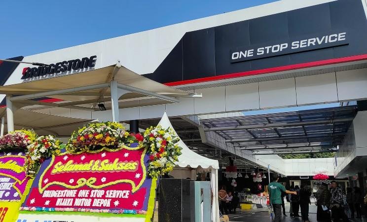 Peresmian Bridgestone One Stop Service Depok, Jabar, Selasa (16/7/2019) - Bridgestone