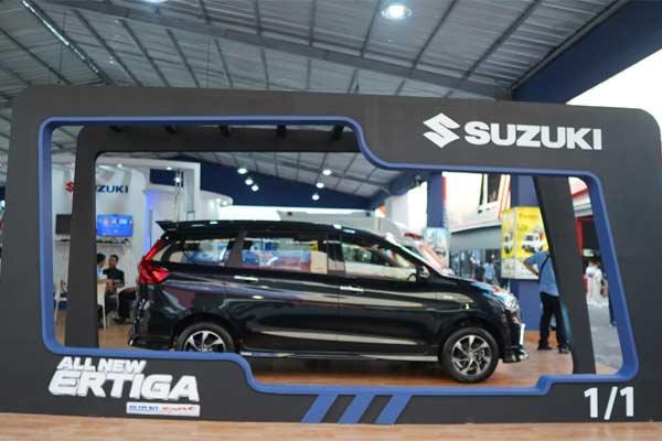Suzuki Ertiga dipajang di Jakarta Fair 2019 - JIBI