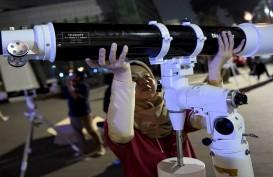Kaum Muda Saksi Indahnya Gerhana Bulan dan Saturnus dari TIM