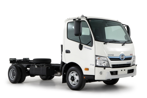 Hino Dutro Hybrid - Hino