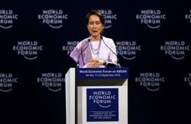 Suu Kyi Ingin Kurangi Peran Militer, Demonstran Pro dan Kontra Padati Myanmar
