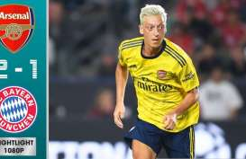 Live Streaming Arsenal vs Bayern Munchen Skor 2-1