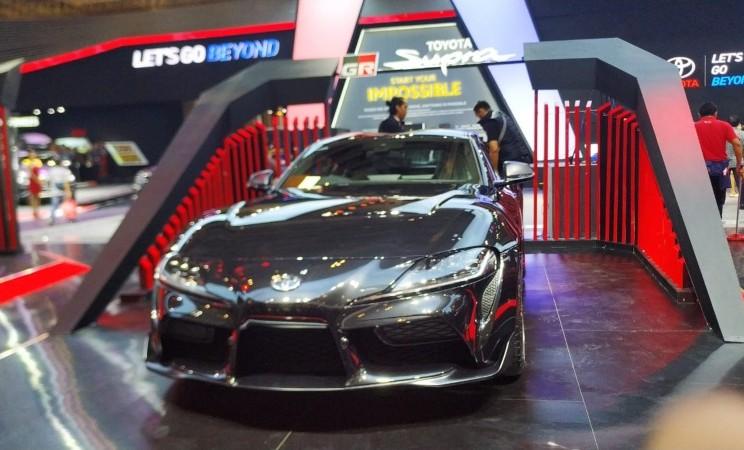 Toyota GR Supra dipajang di GIIAS 2019, Kamis (18/7/2019) - Thomas Mola