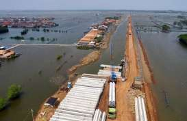 JALUR BEKASI BANTEN :  Tol Tanggul Laut Pesisir Jakarta Disiapkan