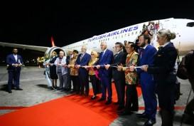 Bandara Internasional I Gusti Ngurah Rai - Bali Sambut Inaugural Flight Turkish Airlines