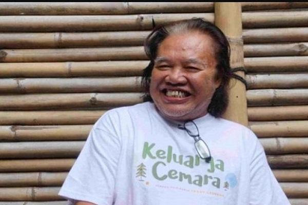 """Arswendo Atmowiloto dalam konferensi pers film """"Keluarga Cemara"""" di Jakarta, Jumat (29/9/2017).  - Antara"""