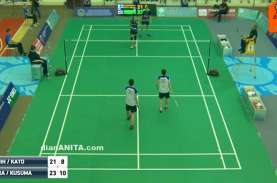 Live Streaming Indonesia Open: Hanya 1 Gelar, RI Sabet…