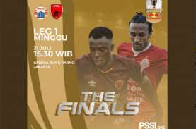 Live Streaming Persija vs PSM Makassar Skor 1-0