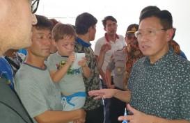 James Riady Kunjungi Para Pengungsi Migran Pencari Suaka
