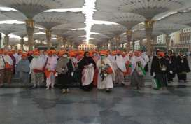 Lebih 52.000 Jamaah Haji Indonesia Tiba di Makkah