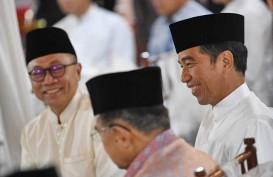 Zukifli Hasan Klaim PAN Dukung Jokowi-Amin Tanpa Syarat