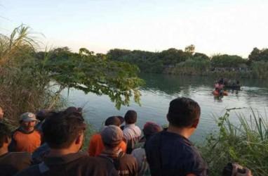 Pesawat Latih Cesna Jatuh di Sungai Cimanuk, Satu Orang Masih Hilang