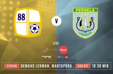 Barito Putera vs Persela Lamongan Skor masih 0-0
