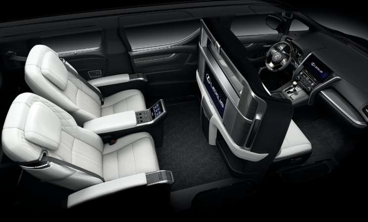 Interior Lexus LM - Lexus Indonesia