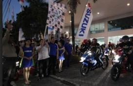 Suzuki Sukses Gelar Saturday Night Ride di Makassar